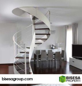 desain, tangga, rumah, minimalis, bentuk, model, lurus, berbelok, melingkar