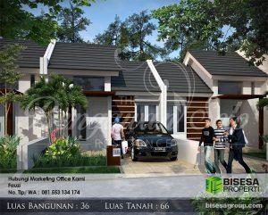 Miliki Rumah Mewah Tipe 3666 dengan Harga Murah (180 Juta) BISESA